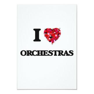 I love Orchestras 9 Cm X 13 Cm Invitation Card