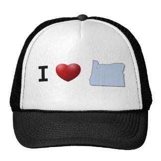 I Love Oregon Hat