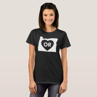 I Love Oregon State Women's Basic T-Shirt