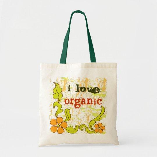 I love organic - Bag