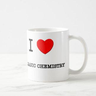 I Love ORGANIC CHEMISTRY Basic White Mug