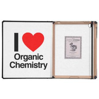 i love organic chemistry iPad cover