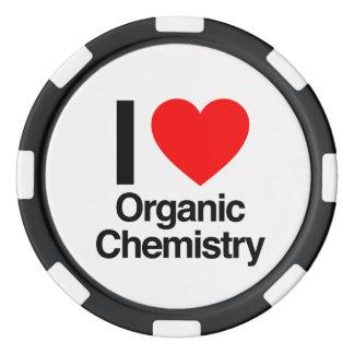 i love organic chemistry poker chip set