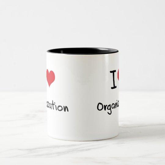 I love Organisation Two-Tone Coffee Mug