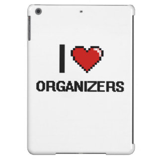 I love Organizers Case For iPad Air