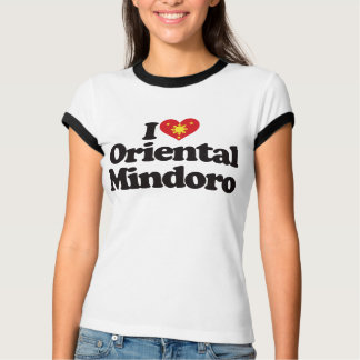 I Love Oriental Mindoro Tshirt