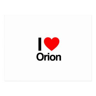 i love orion postcard