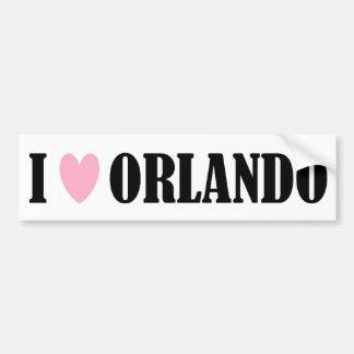 I Love Orlando Bumper Sticker