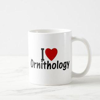 I Love Ornithology Basic White Mug