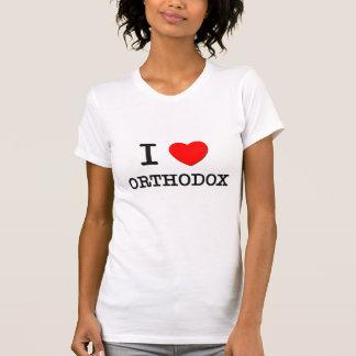 I Love Orthodox Tee Shirts