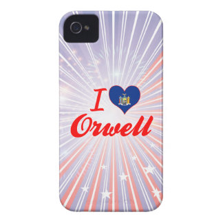 I Love Orwell New York iPhone 4 Cover