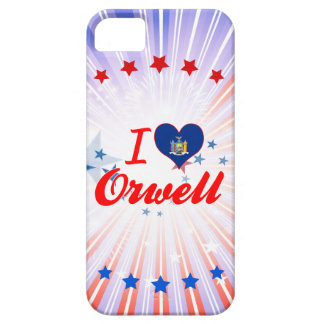 I Love Orwell New York iPhone 5/5S Covers