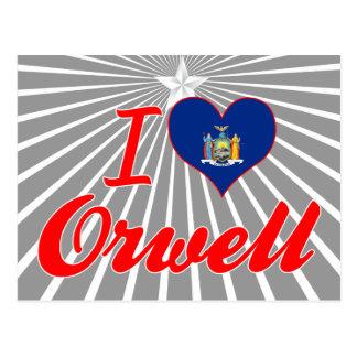 I Love Orwell, New York Postcards