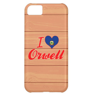 I Love Orwell Vermont Case For iPhone 5C