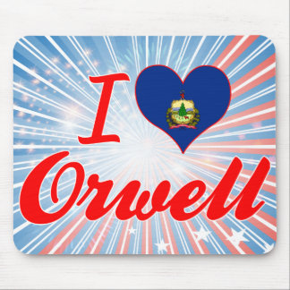 I Love Orwell, Vermont Mouse Pads
