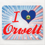 I Love Orwell, Vermont Mousepads