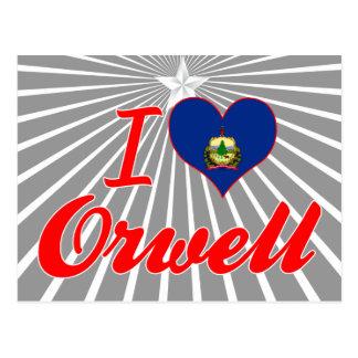 I Love Orwell, Vermont Postcards