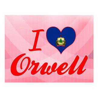 I Love Orwell, Vermont Postcard