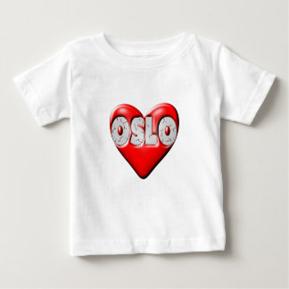 I Love Oslo Norway Baby T-Shirt