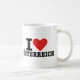 I love Österreich - Austria Coffee Mug