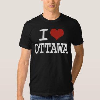 I love Ottawa T-shirts