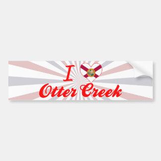 I Love Otter Creek, Florida Bumper Stickers