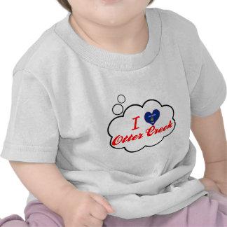 I Love Otter Creek Wisconsin T Shirts