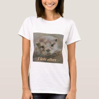 I love otters T-Shirt