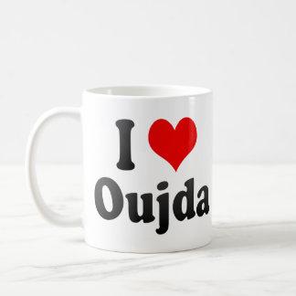I Love Oujda, Morocco Basic White Mug