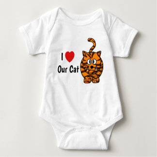 I love our cat vest baby bodysuit