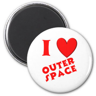 I Love Outer Space Magnets