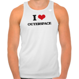 I love Outerspace Tee Shirt