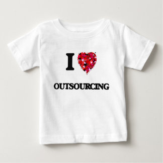 I Love Outsourcing Infant T-Shirt