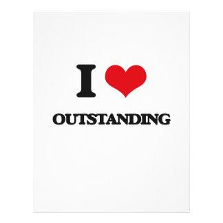 I Love Outstanding 21.5 Cm X 28 Cm Flyer