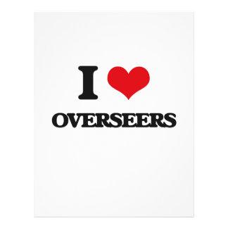 I Love Overseers Flyer