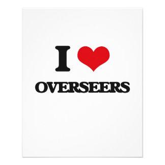 I Love Overseers Flyers