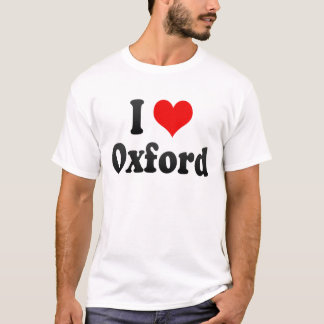 I Love Oxford, United Kingdom T-Shirt