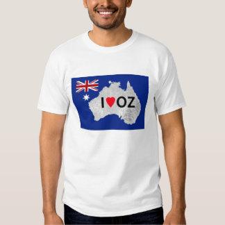 I Love Oz Logo Man's T-Shirt
