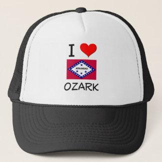 I Love OZARK Arkansas Trucker Hat