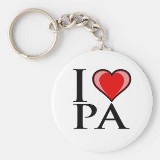 I Love PA - Pennsylvania Key Ring