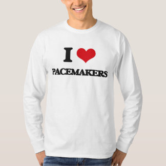 I Love Pacemakers T Shirts