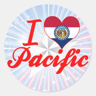 I Love Pacific, Missouri Stickers