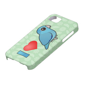 I Love Pacific Parrotlets (blue) Barely There iPhone 5 Case