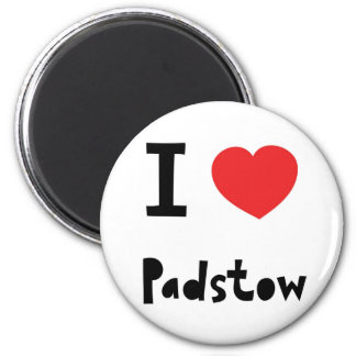 I love Padstow Magnet