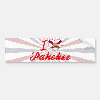 I Love Pahokee, Florida Bumper Sticker