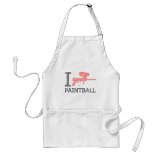 I Love Paintball Standard Apron