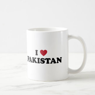 I Love Pakistan Basic White Mug