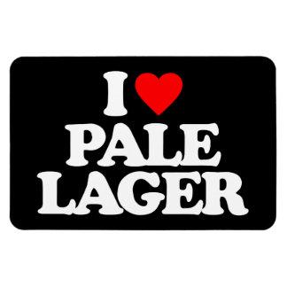 I LOVE PALE LAGER MAGNET