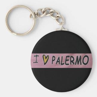 I love Palermo Design Key Ring