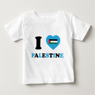 I Love Palestine Baby T-Shirt